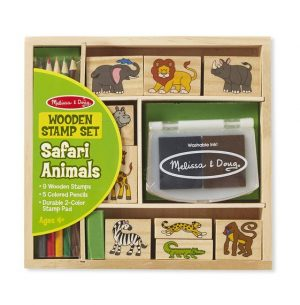 safari stamp set