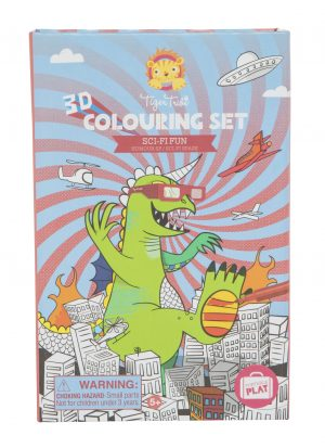 3D Colouring Set - Sci-Fi Fun