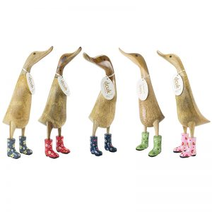 dcuk floral welly ducklings set of 5