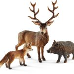 schleich european forest dwellers