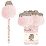 pusheen pen with pom pom topper