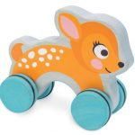 le toy van dotty deer on wheels