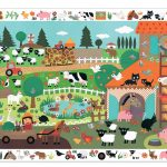 Djeco Farm Observation Puzzle