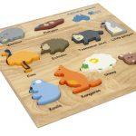 q toys australian animals puzzle