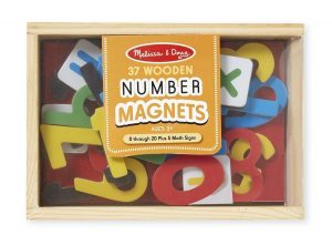 number magnetic
