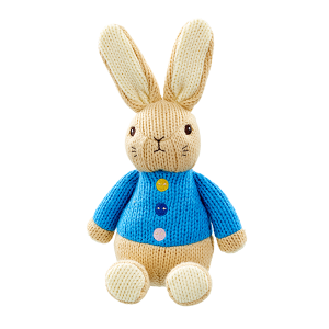 Peter Rabbit Soft Knitted Toy