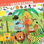 djeco observational puzzle jungle