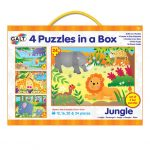 Galt 4 puzzles in a box jungle