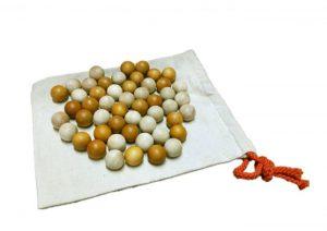 2 Tone Wooden Balls Set of 50
