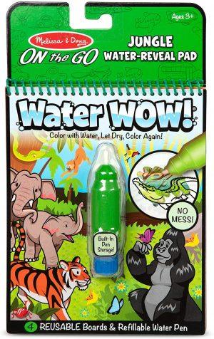 Melissa & Doug On The Go Water Wow! Jungle Activity Pad