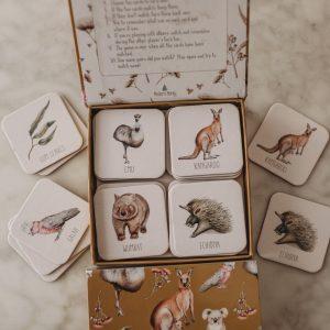 Modern Monty Australian Memory Card Game