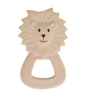 Tikiri Flat Rubber Teether Lion