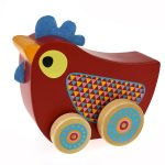 CHICKEN WIND N WALK MUSIC BOX