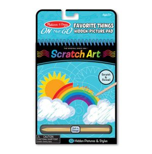 On the Go Scratch Art
