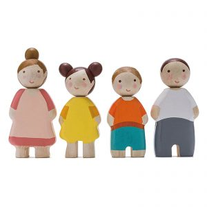 Tender Leaf Toys Four Wooden People