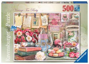 Ravensburger - Vintage Tea Party Jigsaw Puzzle 500pc