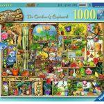 Ravensburger - The Gardener's Cupboard Puzzle 1000pc