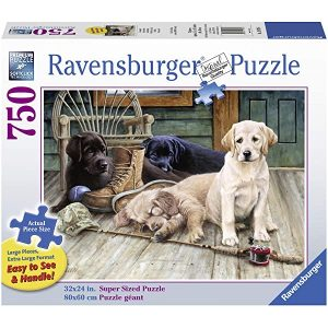 Ravensburger - Ruff Day Jigsaw Puzzle Large Format 750 Piece
