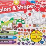M&D - Colours & Shapes Activity Pad