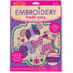 Embroidery Made Easy - Puppy & Kitten