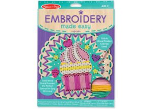 Embroidery Made Easy - Cute Cupcake Save