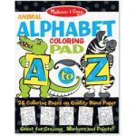 Colouring Pad - Animal Alphabet