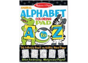 Colouring Pad - Animal Alphabet