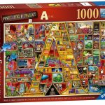 Ravensburger - Awesome Alphabet A Puzzle 1000pc
