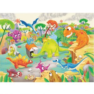 RAVENSBURGER 60PC TIME TRAVELLING DINOS