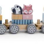 Viga Toys PolarB Stacking Wooden Train