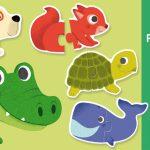 Duo Animals 20pc Puzzle