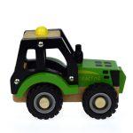 Eleganter Wooden Green Tractor