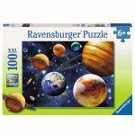 RAVENSBURGER SPACE PUZZLE 100 PC