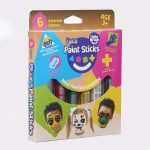 Little Brian Face Paint Sticks 6 Pack