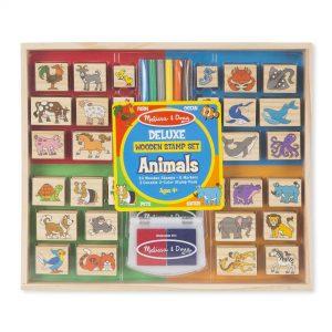 deluxe wooden stamp set