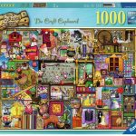 Ravensburger Craft Cupboard 2 1000 Piece Puzzle
