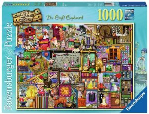 Ravensburger Craft Cupboard 2 1000 Piece Puzzle