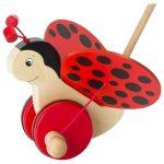 Goki Ladybird Push Along