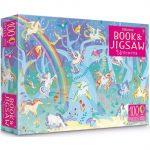 Book and Jigsaw: Unicorns