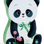 Djeco - Leo The Panda Puzzle 24pce