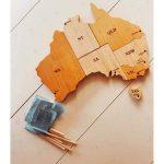 q toys australia map puzzle