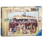 Ravensburger Crazy Cats... On the Coach Trip 500 Piece Jigsaw