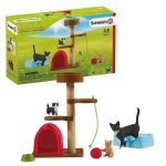 Schleich Farm World Playtime for Cute Cats Set